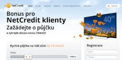 NetCredit s.r.o. půjčka – přihlášení