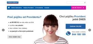 Úvěry a půjčky od Providentu
