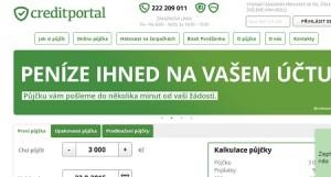 Creditportal.cz půjčka